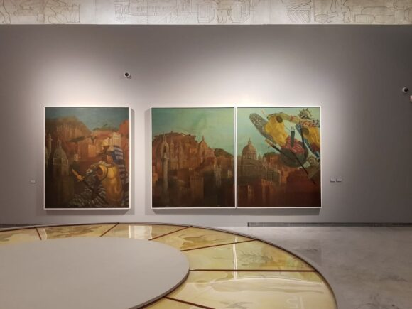 Omaggio a Corrado Cagli nel Museo di Palazzo Cipolla