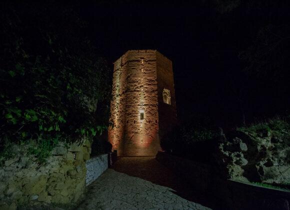 Illuminazione Torre Federico II ad Enna