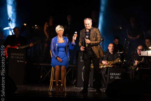 Amii Stewart e Gerardo Di Lella orchestra ad Agrigento