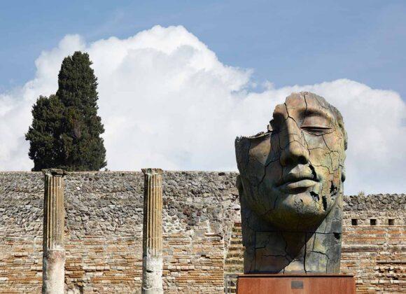 Mitoraj a Pompei