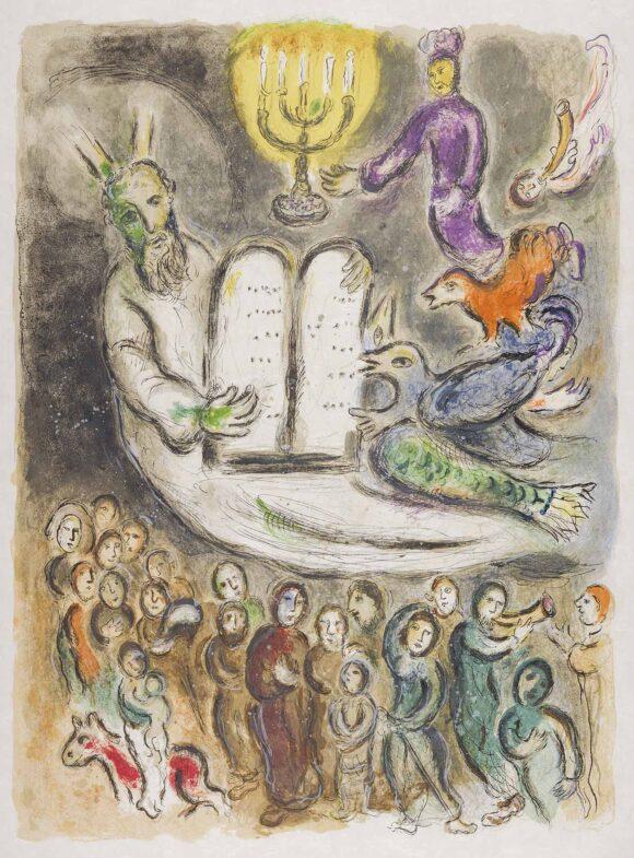 La narrazione biblica di Chagall in scena a Catanzaro