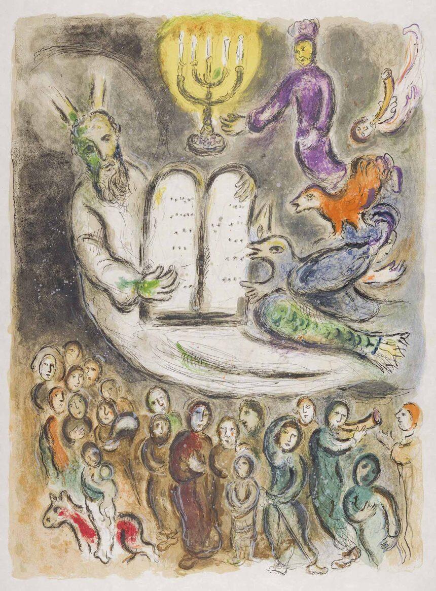 Venerdì 16 luglio gratuito l'ingresso alla mostra di Chagall a Catanzaro