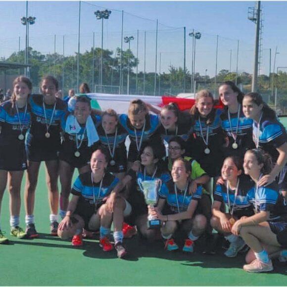 Festa all'Acqua Acetosa -La Lazio Hockey campione d'Italia.